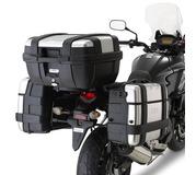 Sideveskefester plx i stål for V35V37 vesker Honda XL1000V