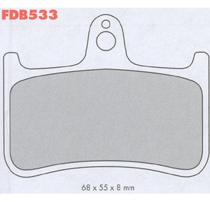 Bremseklosser bak Spesial Platinum bilde 1