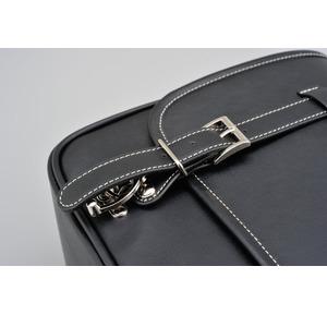 HenlyBegins - Saddle bag - 12 liter - Leather bilde 4